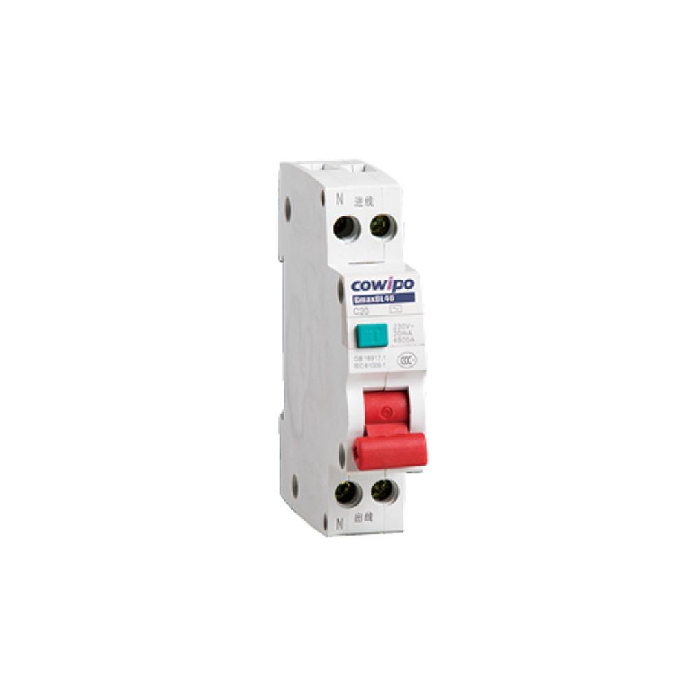 GmaxBL40系列(相线+中性线+漏电)保护断路器